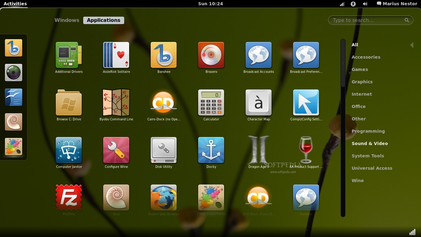 Gnome 3 Screenshot
